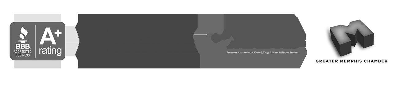 Better Business Bureau, Recovery Dynamics, TAADAS, Memphis Chamber of Commerce